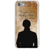 Sherlock Holmes Benedict Cumberbatch version  iPhone Case/Skin