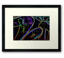 Graffiti 10 Framed Print