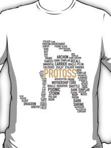 SC Protoss Dark Templar Type - gold T-Shirt