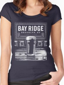Bay Ridge, Brooklyn, NY Women's Fitted Scoop T-Shirt