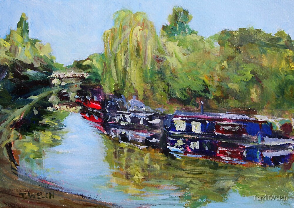 First Day of Summer on Paddington Branch by TerrillWelch