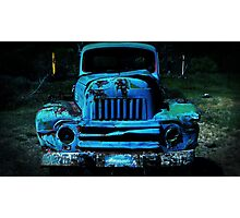 Lomography Truck Photography Photographic Print