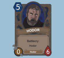 Hodor Hearthstone by CBstudios
