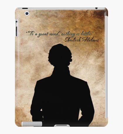 Sherlock Holmes Benedict Cumberbatch version iPad Case/Skin