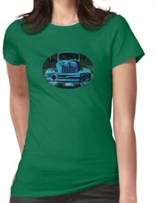 Lomography Truck Photography Womens Fitted T-Shirt