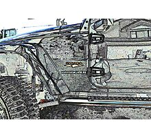 Jeep Reflections Photographic Print