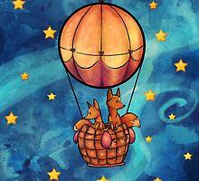 Starry, Starry Flight by Reaperfox