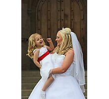 Bridal Smiles Photographic Print
