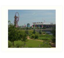 Queen Elizabeth Park in the Summer Art Print