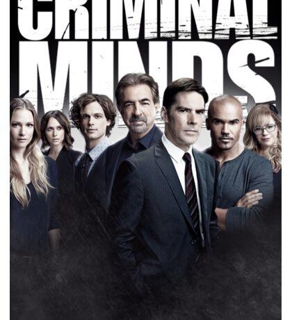 Criminal Minds Season 10 Cast Print Sticker