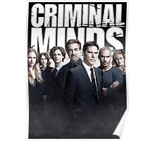 Criminal Minds Season 10 Cast Print Poster