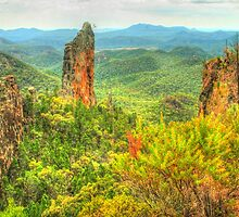 The Breadknife in the Warrumbungles by Michael Matthews