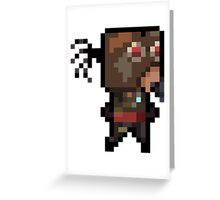 BorderFriends - Mordecai Greeting Card