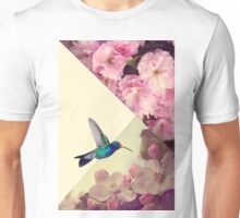 Hummingbird in love Unisex T-Shirt