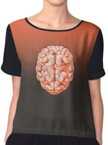 Puzzle brain GINGER Chiffon Top