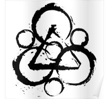 coheed and cambria original best logo Poster