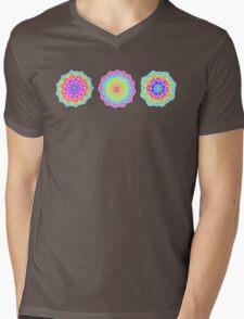 Psychedelic Summer Mens V-Neck T-Shirt