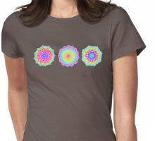 Psychedelic Summer Womens Fitted T-Shirt