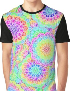 Psychedelic Summer Graphic T-Shirt