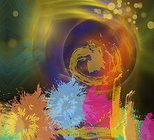 Sun Burst by walstraasart