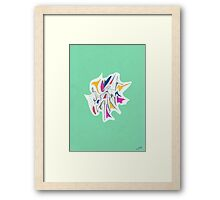0203 - Urquelle very Young and in Green Framed Print