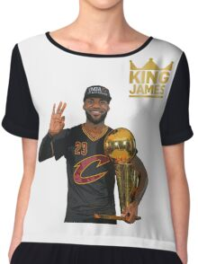 Lebron James Chiffon Top