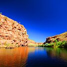 Chamberlain Gorge, El Questro by wildimagenation