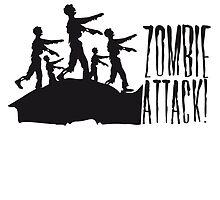 Zombie Horde attack danger race by Style-O-Mat