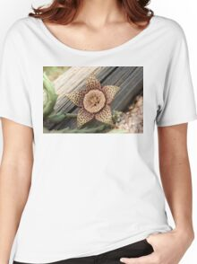 When a Cacti Blooms Women's Relaxed Fit T-Shirt