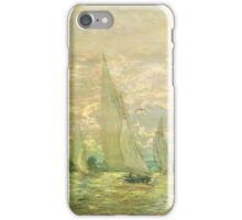 Homeward bound les barques ... iPhone Case/Skin