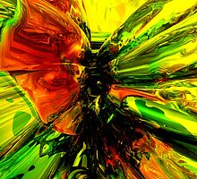 Phoenix Rising Abstract by Alexander Butler