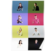 Criminal Minds Cast Print Poster