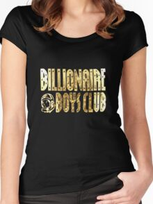 Tee t-shirt, Gold Foil-Billionaire boys club Women's Fitted Scoop T-Shirt