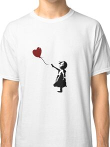 Bansky Fan Art Balloon Classic T-Shirt