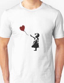 Bansky Fan Art Balloon Unisex T-Shirt