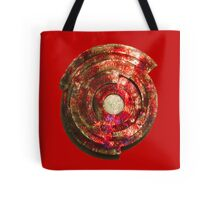 RED Metal Shield-t Tote Bag