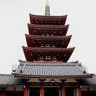 Five-storied Pagoda - Senso-ji by Perggals© - Stacey Turner