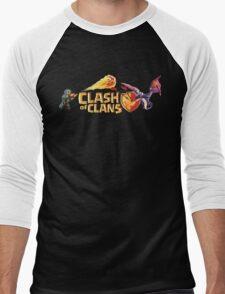 CLASH OF CLANS Men's Baseball ¾ T-Shirt