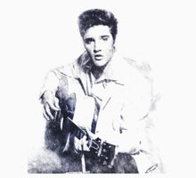 Elvis presley portrait 01 One Piece - Short Sleeve