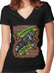 Browncoats Tours Women's Fitted V-Neck T-Shirt