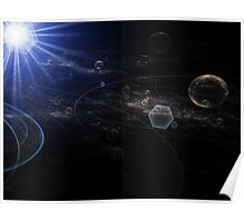 Mapping the Galaxy Poster