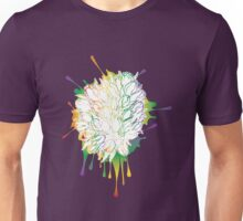 Tulips Grunge Sketch Colorful Unisex T-Shirt