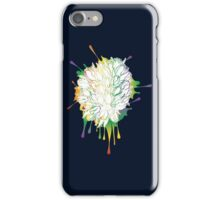 Tulips Grunge Sketch Colorful iPhone Case/Skin