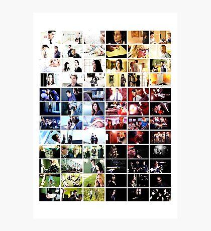 Criminal Minds Colour Print Photographic Print