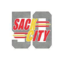 Sack city Houston Photographic Print