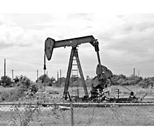 Texas Oil Photographic Print