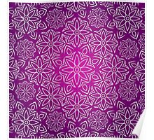 Abstract Mandala Poster
