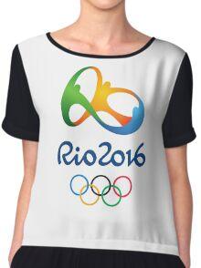 Olympics in Rio 2016 Best Logo Chiffon Top
