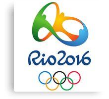 Olympics in Rio 2016 Best Logo Canvas Print