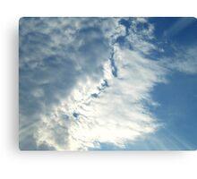Cloud Illusions Canvas Print
